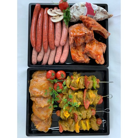 PANIER  BARBECUE  3/4 pers