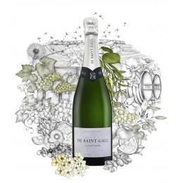 Champagne DE SAINT-GALLE Le tradition Premier Cru