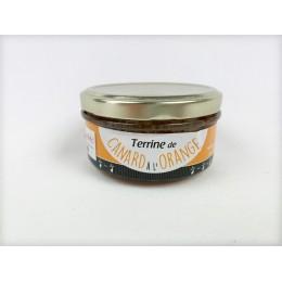 TERRINE DE CANARD à l'orange 150g